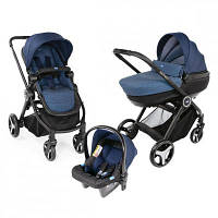 Коляска Chicco 3 в 1 Trio Best Friend+ Comfort Синяя (79420.79)