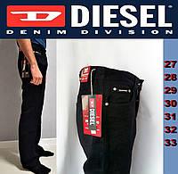 Мужские черные джинсы классические, свободные, прямые Diesel Mawens