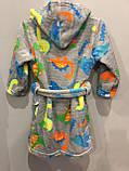 Махровый халат для мальчика 56, фото 2