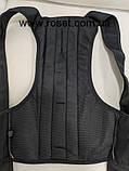Корректор осанки корсет Back Pain NY 48 M Черный, фото 5