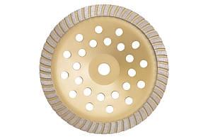 Чашка діамантова Асеса - 230 x 22,2 мм турбо жовта