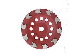 Чашка діамантова Aceca - 180 x 22,2 мм L червона
