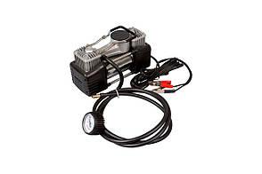 Миникомпрессор автомобільний Miol - двухпоршневой 12 В, 10 bar, 60 л/хв