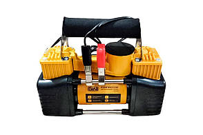 Миникомпрессор автомобільний Сила - 12 x 10 bar x 85 л/хв, двухпоршневой