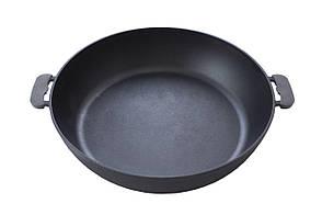 Сковорода жаровня чугунная Биол - 400 мм