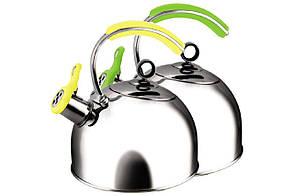 Чайник нержавіючий Maestro - 2,5 л, MR-1332