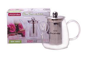 Чайник заварювальний Kamille - 600 мл