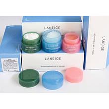 Набор ночных масок мини Laneige Good Night 3 kit