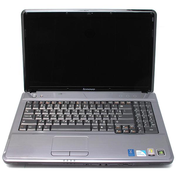 Ноутбук Lenovo G550-Intel C2D-T6600-2,20GHz-4Gb-DDR3-HDD-500Gb-W15.6-Web-DVD-R-NVIDIA GeForce G210(512Mb)-(B)-