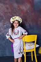 Плаття для дівчинки Лілея біле