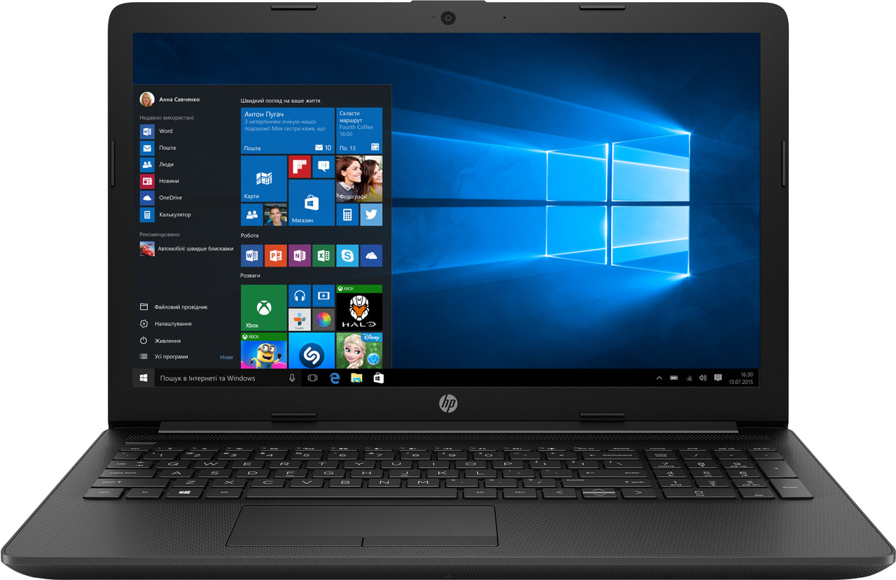 Ноутбук HP 15-af111no-AMD Dual-Core E1-6015-1.4GHz-4Gb-DDR3-500Gb-W15.6-Web-(B)- Б/У