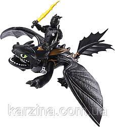 Dragons Як приручити дракона 3 Беззубик і вершник Иккинг оригінал Spin master