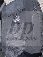 Чехлы на сиденья модельные (автоткань) hyundai elantra ad (хюндай элантра ад 2015+)деленный