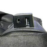 Місткий рюкзак з жорсткою спинкою. Чорний. + Дощовик. 35L / s8810-3 black, фото 6