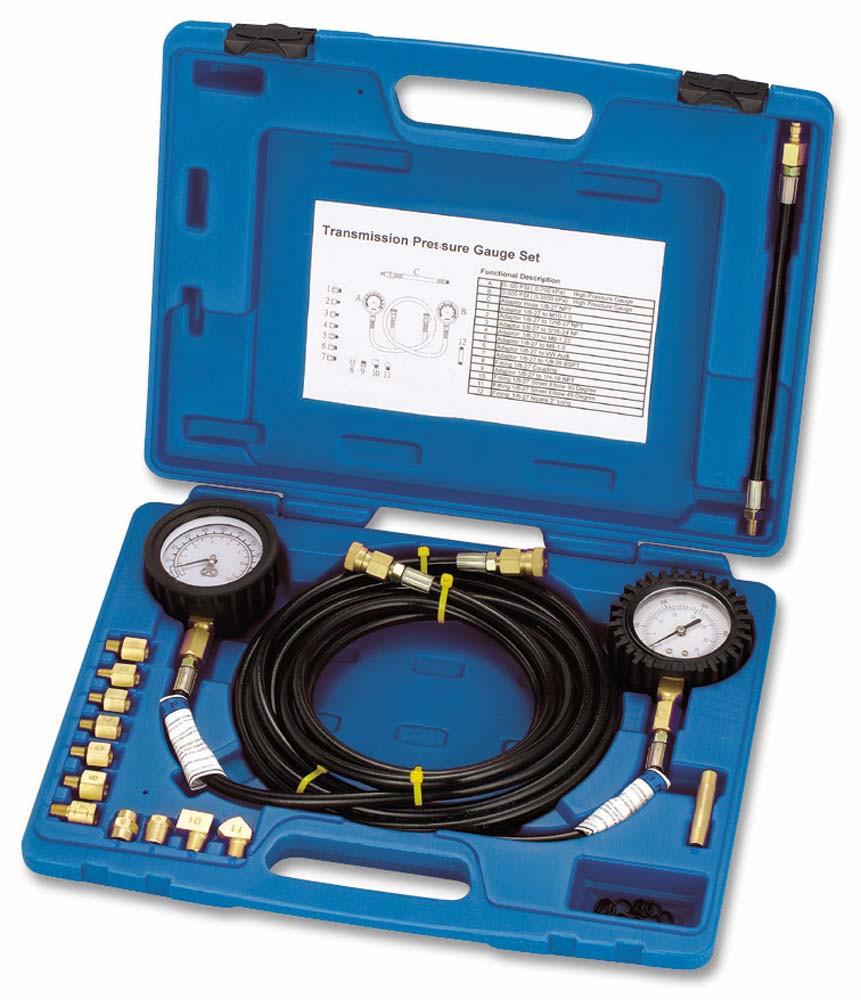 Тестер тиску масла (2 манометра) ASTA TIT-130