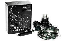 """Гирлянда уличная """"Конский хвост"""" 200 LED: 10 линий по 2 м, 20 диодов цвет - тёпло-белый, динамический режим,, фото 3"""