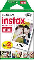 Акция! Фотобумага Fujifilm INSTAX MINI EU 2 GLOSSY (54х86мм 2х10шт) (16567828) [Скидка 3%, при условии 100%