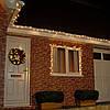 Уличная Гирлянда светодиодная нить ярка я10 м, 100 led белый каучуковый провод - цвет тепло белый с мерцанием, фото 2