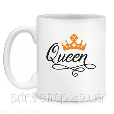 """Чашка """"Queen """" / друк на чашках"""