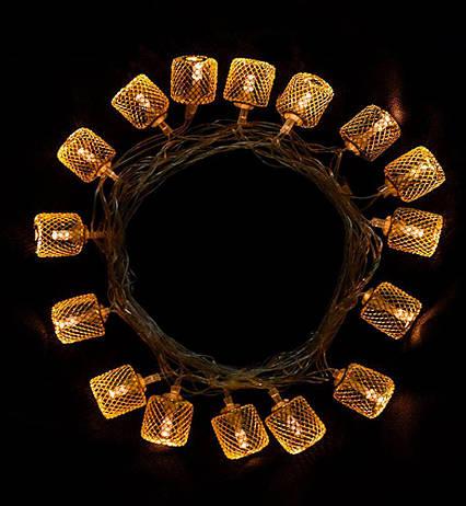 Электро-гирлянда 20L с насадкой «Золотой бочонок» на 20 светодиодов, фото 2