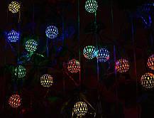 Электро-гирлянда 20L с насадкой «Золотое колесо» на 20 светодиодов, фото 2