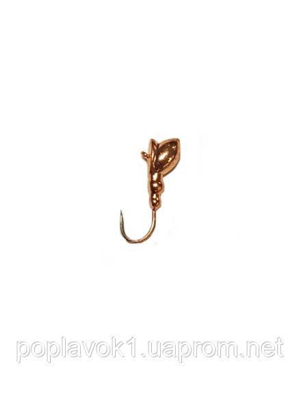Мормишка вольфрам. Муха (Мідь) 5мм