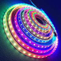 Cветодиодная лента RGB с пультом управления: длина 5м, SMD 5050 (мульти)
