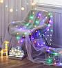 Новогодняя светодиодная гирлянда Шарики: 80 ламп, 12 метров (белый цвет), фото 6