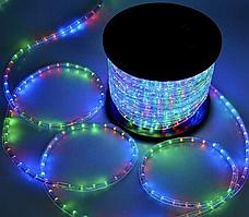 Гирлянда дюралайт светодиодная лента шланг с контроллером: длина 20 метров (4 цвета)