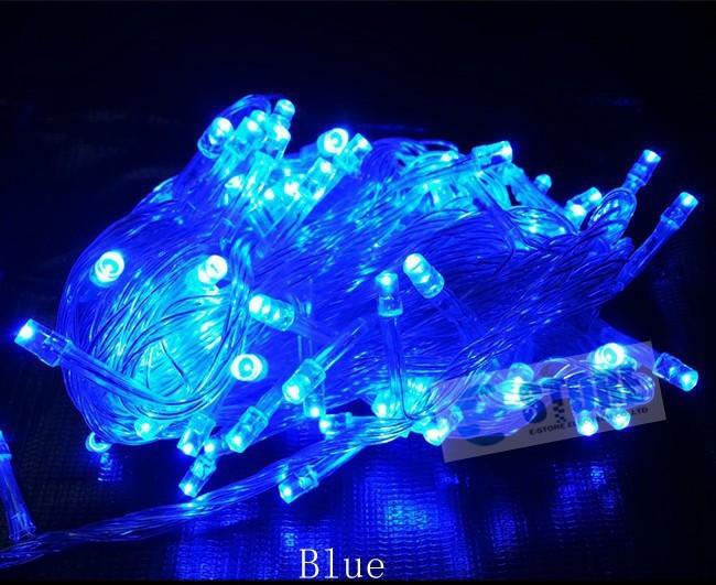 Новогодняя cветодиодная гирлянда LED 500 лампочек (30м): микс цветов Мульти