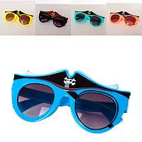 Очки SG23065-7  солнцезащитные,  12, 5см,  6цветов,  в кульке