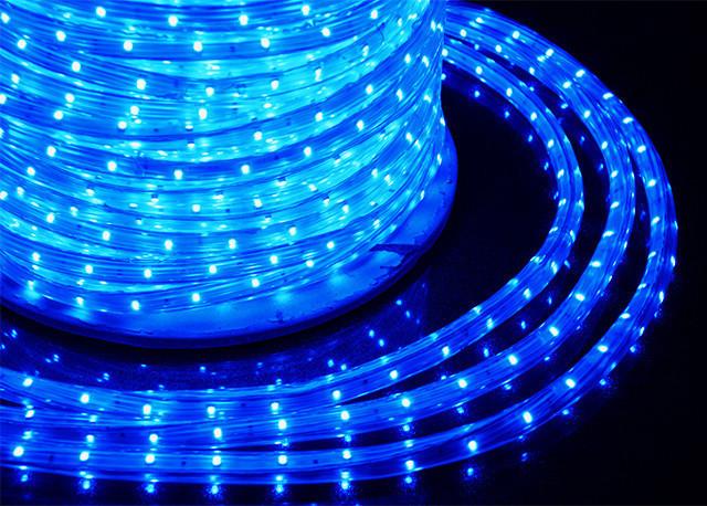 Светодиодная гирлянда Shine Lighting дюралайт 20 метров Синяя