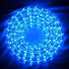 Светодиодная гирлянда Shine Lighting дюралайт 20 метров Синяя, фото 2