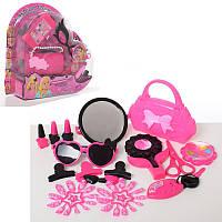 Набор аксессуаров HC154D-E  сумочка,  очки,  2в(телефон/зеркало),  на листе,  36-34-8, 5см