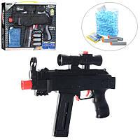 Автомат AK46   27см,  водяные пули,  мягкие пули-присоски3шт,  в кор-ке,  32, 5-25, 5-4, 5см