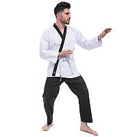 Кимоно для дукендо каратэ бело-черное DOCANDO DCS, 110