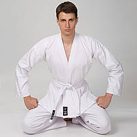 Кимоно белое для каратэ MATSA MA-0016, 130