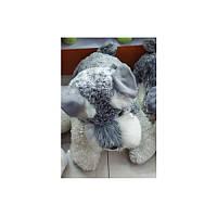 Мягкая игрушка T15-61-3  собака,  шнауцер,  29см