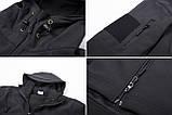 Тактическая куртка Soft Shell (Black) XXXXL, фото 5