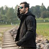 Тактическая куртка Soft Shell (Black) XXXXL, фото 8