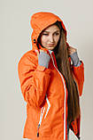 Женская куртка лыжная Crivit (38 размер) Оранжевая М, фото 2
