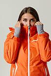 Женская куртка лыжная Crivit (38 размер) Оранжевая М, фото 3