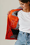 Женская куртка лыжная Crivit (38 размер) Оранжевая М, фото 5