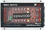 Автомобильный 4-канальный усилитель звука Kenwood MRV-1907 4000W Silver/Red (4833), фото 2