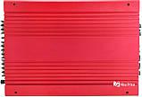 Автомобильный 4-канальный усилитель звука Kenwood MRV-1907 4000W Silver/Red (4833), фото 6