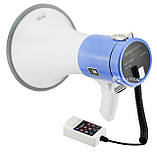 Громкоговоритель (рупор) UKC ER-66U White/Blue (5077)Уценка 100756 Неисправность, фото 4