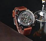 УЦЕНКА Водонепроницаемые армейские часы AMST AM3003 Brown (тех. пакет) (154728), фото 7