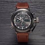 УЦЕНКА Водонепроницаемые армейские часы AMST AM3003 Brown (тех. пакет) (154728), фото 9