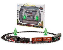 Железная дорога на радиоуправлении.Игрушечная железная дорога с звуком и светом 822-3