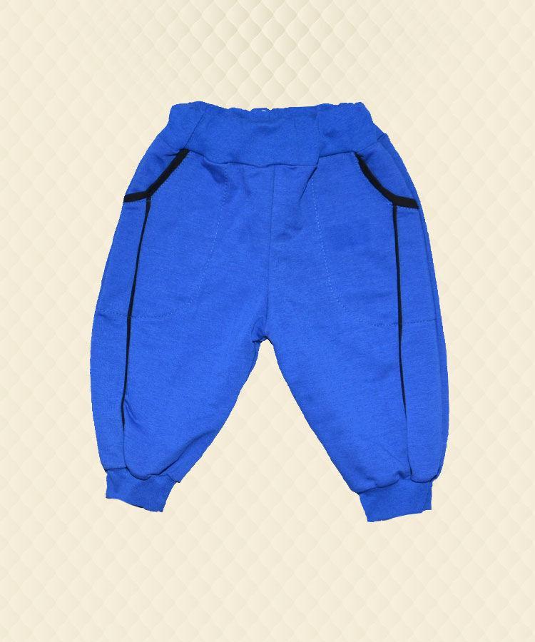 Бриджи детские синие двухнитка